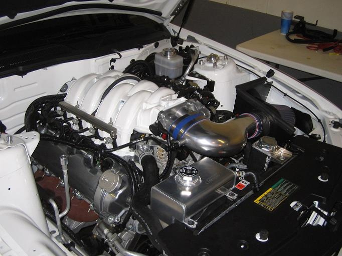 05 Mustang w/ Canton Coolant Tank